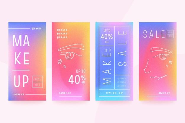 Invente historias de ventas en redes sociales