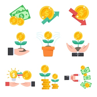 Inversión, administrar sus finanzas con inversiones es como plantar árboles.