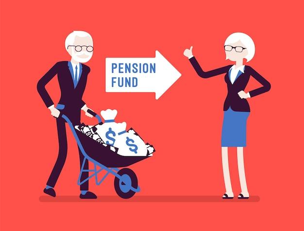 Inversión en fondos de pensiones