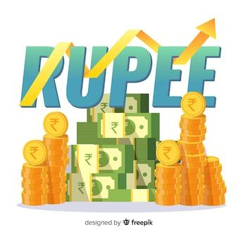 Inversión de rupias indias