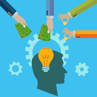 Invertir en una idea