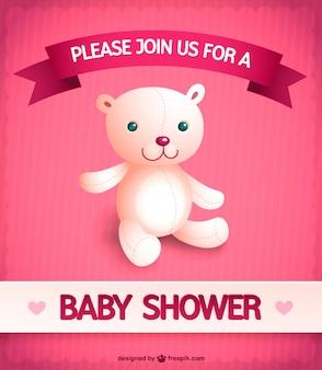 Invitación bebé para niña