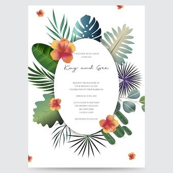 La invitación de la boda, floral invita gracias, diseño moderno de la tarjeta del rsvp