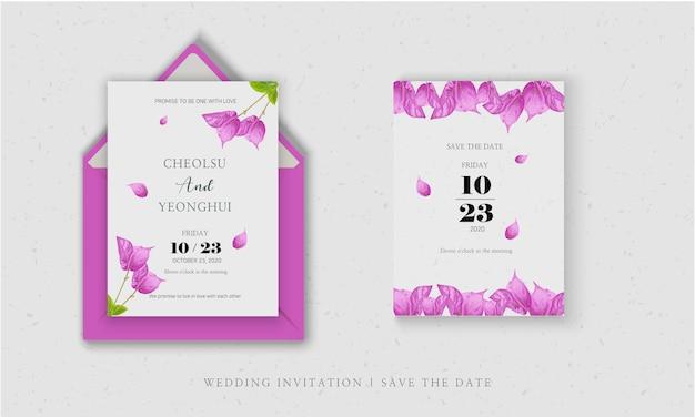 La invitación a la boda