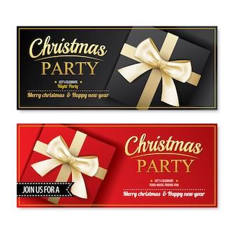 Invitación feliz navidad flyer.