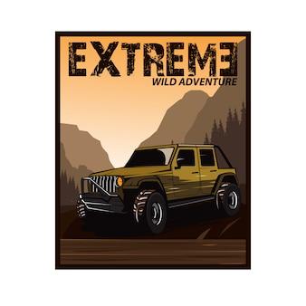 Jeep de aventura