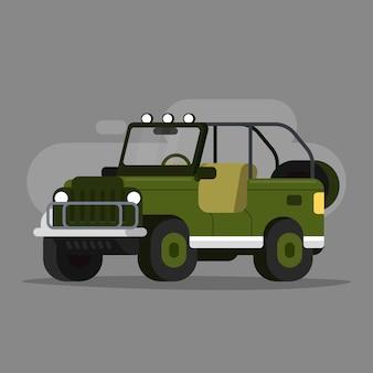 Jeep coche de aventura