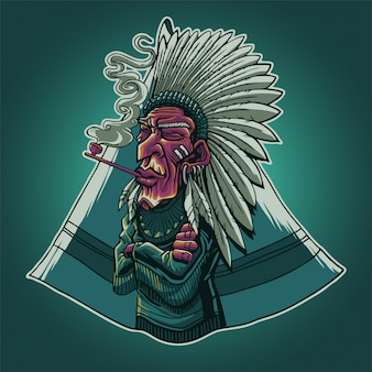 El jefe indio