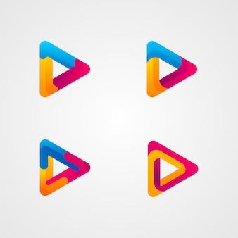 Juega logo button template