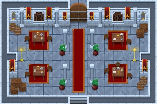 Juego de castillo tileset