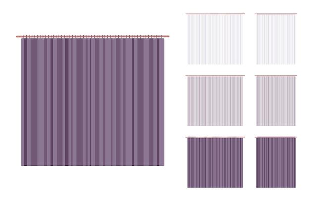 Juego de cortinas para cortinas y marcos
