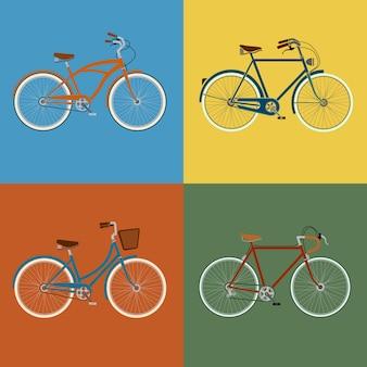 Juego de bicicletas
