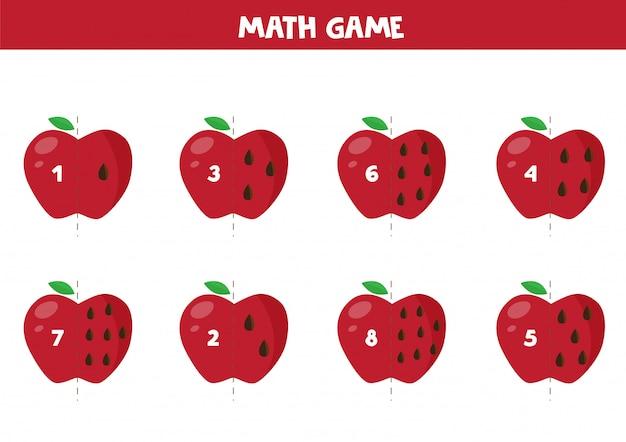 Juego educativo de matemática para niños