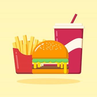 Juego de hamburguesas