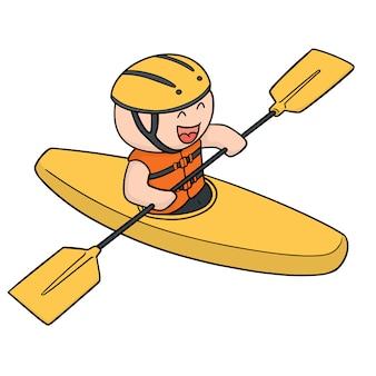 Juego de kayak