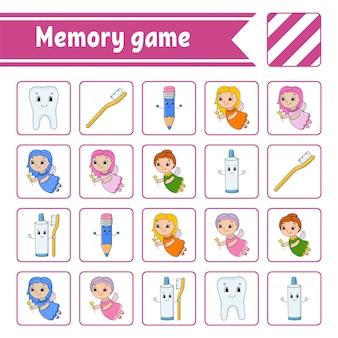Juego de memoria para niños.