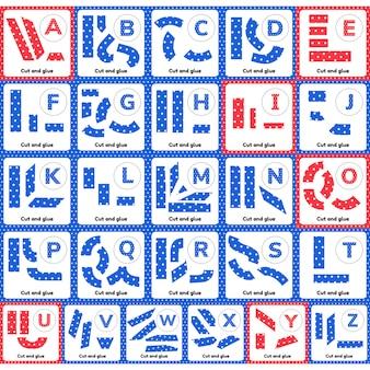 Un juego para niños en edad preescolar y escolar.