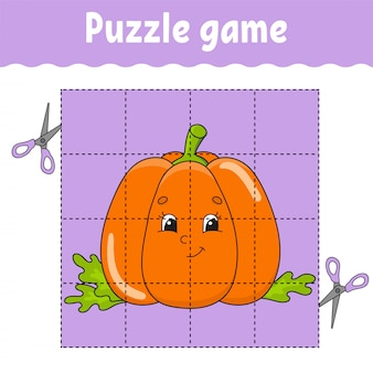 Juego de puzzle para niños.