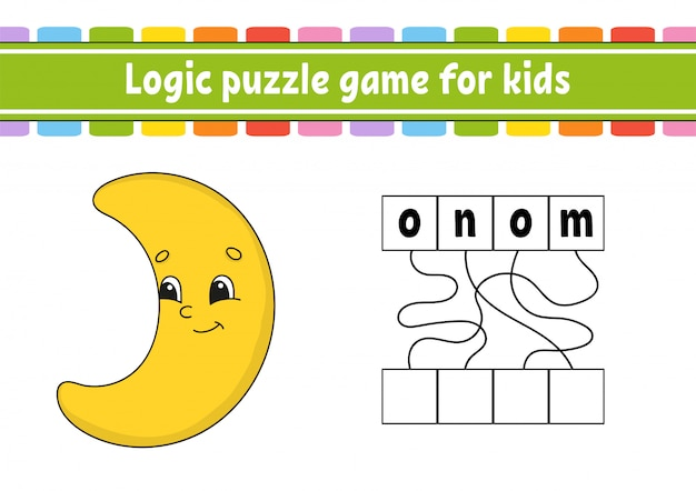 Juego de rompecabezas de lógica.