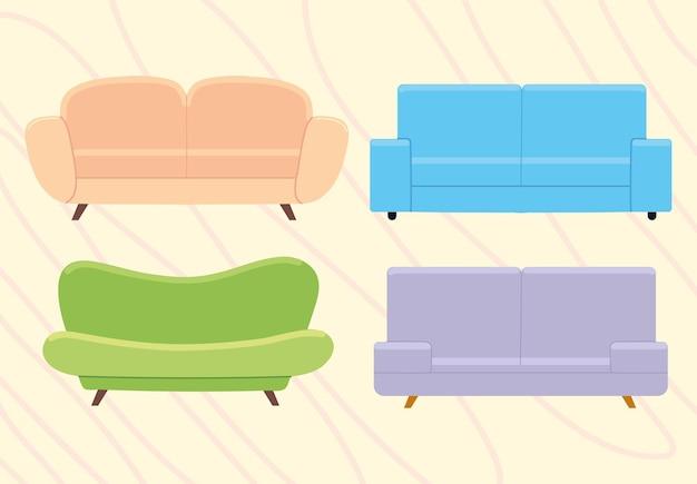 Juego de sofa