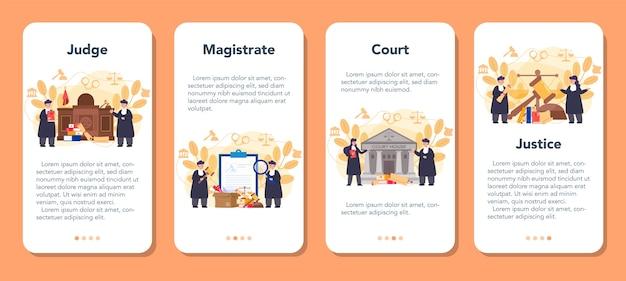 Juez servicio o plataforma en línea