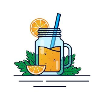 Jugo de cóctel de naranja