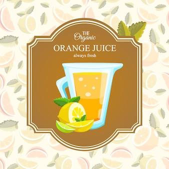 Jugo de naranja organico