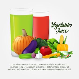 De jugo de verduras