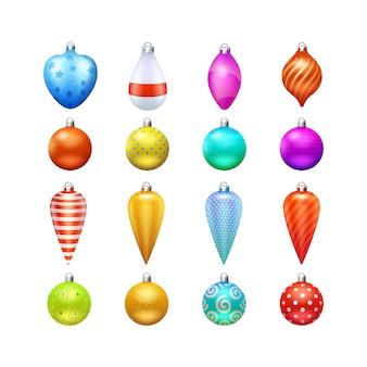 Juguetes y decoraciones navideñas.