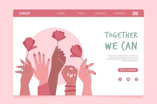 Juntos podemos aterrizar en la página