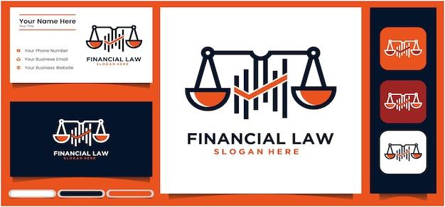 Justicia logo legal finanzas abogado espada escala creativo bufete de abogados diseño de logotipo plantilla de logotipo