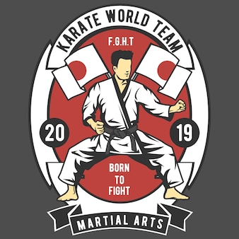 Karate world team