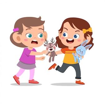 Kid bully friend mal comportamiento no es bueno