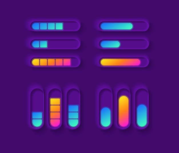 Kit de elementos de interfaz de usuario de indicador de potencia