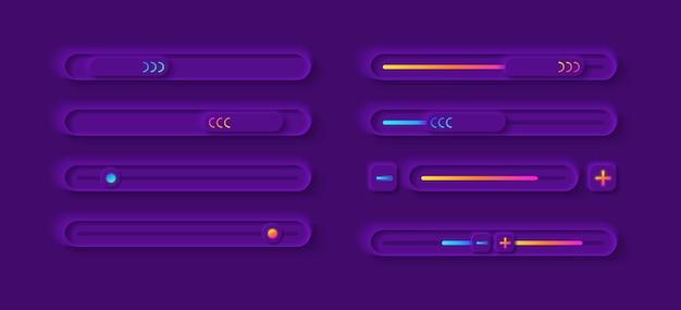 Kit de elementos de interfaz de usuario del panel de ajuste