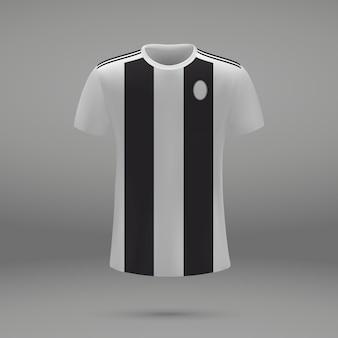 Kit de fútbol juventus, plantilla de camiseta para camiseta de fútbol.