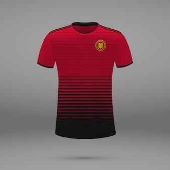 Kit de fútbol manchester united, plantilla de camiseta para camiseta de fútbol.