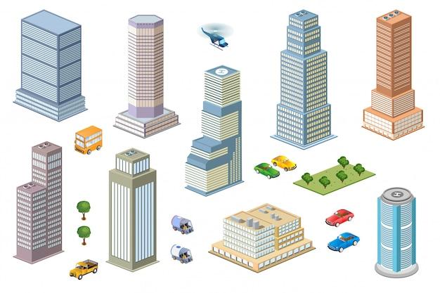 Kit metrópolis de rascacielos.