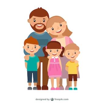 Dibujos animados de familias fotos y vectores gratis for Zona 5 mobilia no club download