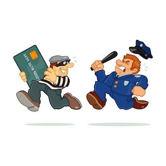 Ladrón de tarjetas de crédito