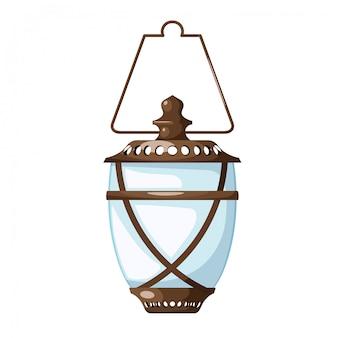 Lámpara de aceite vintage