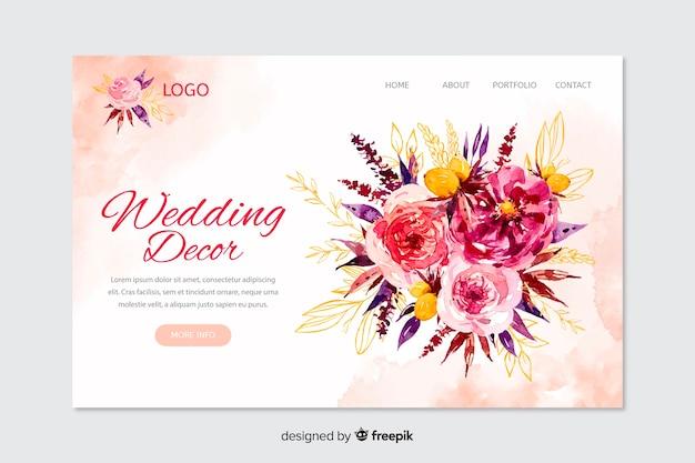 Landing page de bodas