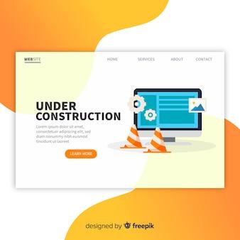Landing page de en construcción