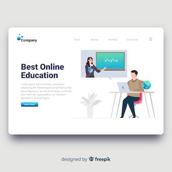 Landing page educación online