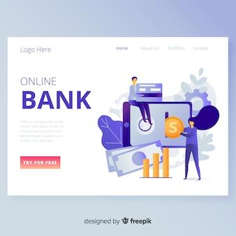 Landing page para entidades bancarias