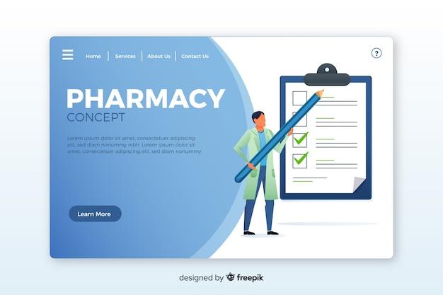 Landing page farmaceútica
