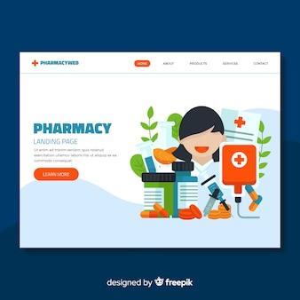 Landing page de farmacia