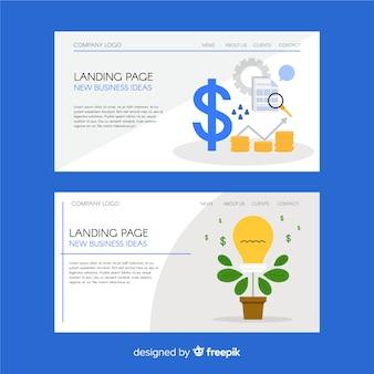 Landing page de negocios