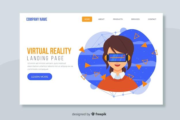 Landing page o página web de aterrizaje corporativa para empresas y agencias