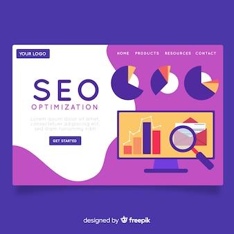 Landing page de optimización seo